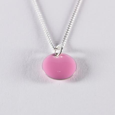 Collier confetti rose pâle et argent - Na na na naa
