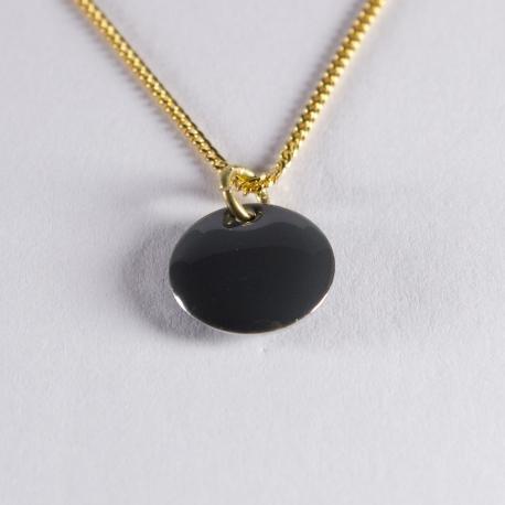 Collier confetti vermeil gris - Na na na naa
