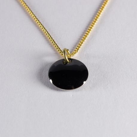 Tour de cou confetti  vermeil noir - Na na na naa