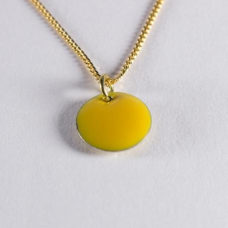 Tour de cou confetti vermeil jaune - Na na na naa