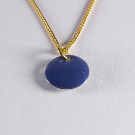 Tour de cou confetti vermeil bleu gris - Na na na naa