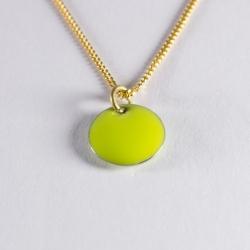 Tour de cou confetti vermeil vert anis - Na na na naa