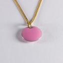 Tour de cou confetti vermeil rose pâle - Na na na naa