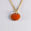 Collier confetti vermeil orange - Na na na naa